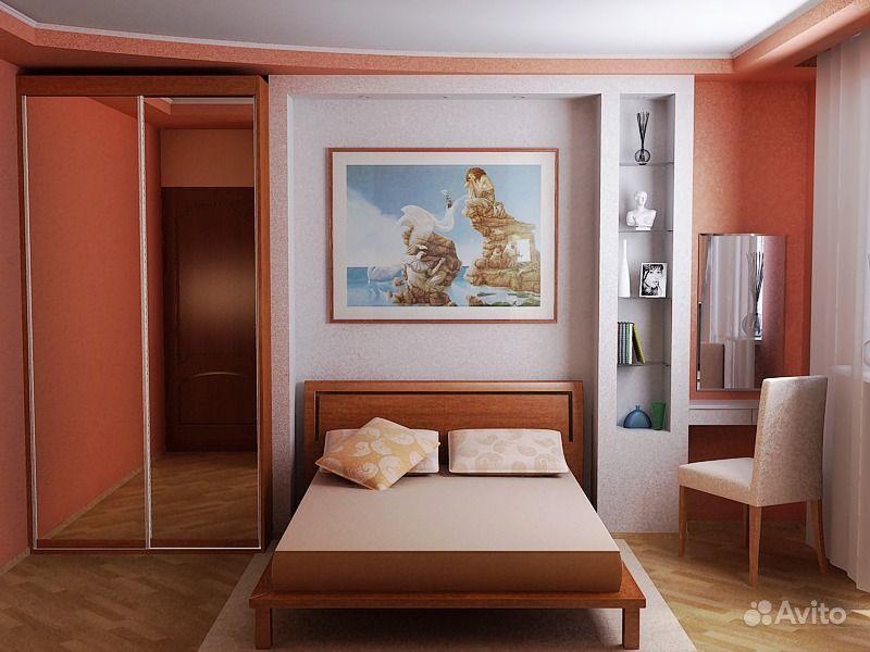 Малогабаритные спальни дизайн фото