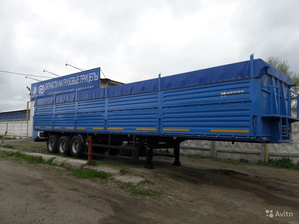 Полуприцеп бортовой зерновоз Нефаз-93341. Рязанская область,  Рязань