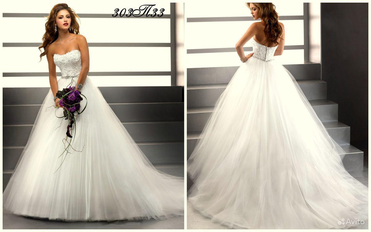 Свадебные платья не пышные со шлейфом