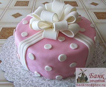 Красивый торт на день рождения своими руками фото