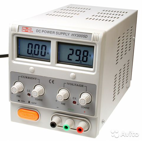 Блок питания mastech HY3005D