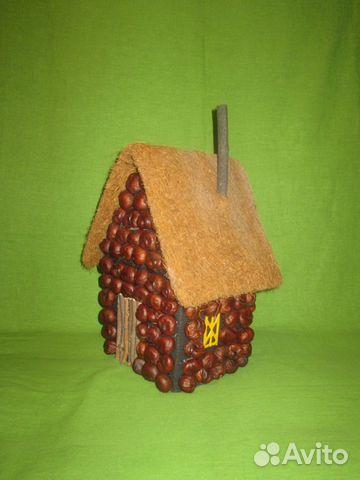 Инструкция как сделать домик из каштанов