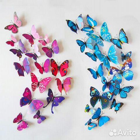 Как сделать бабочки своими руками для украшения стены