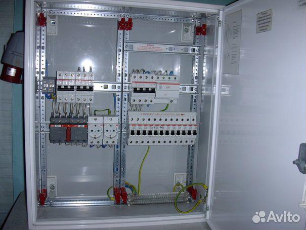 Электрический щит, шкаф ABB с