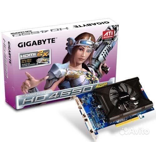 Agp Ati Radeon Hd4650 1024Mb