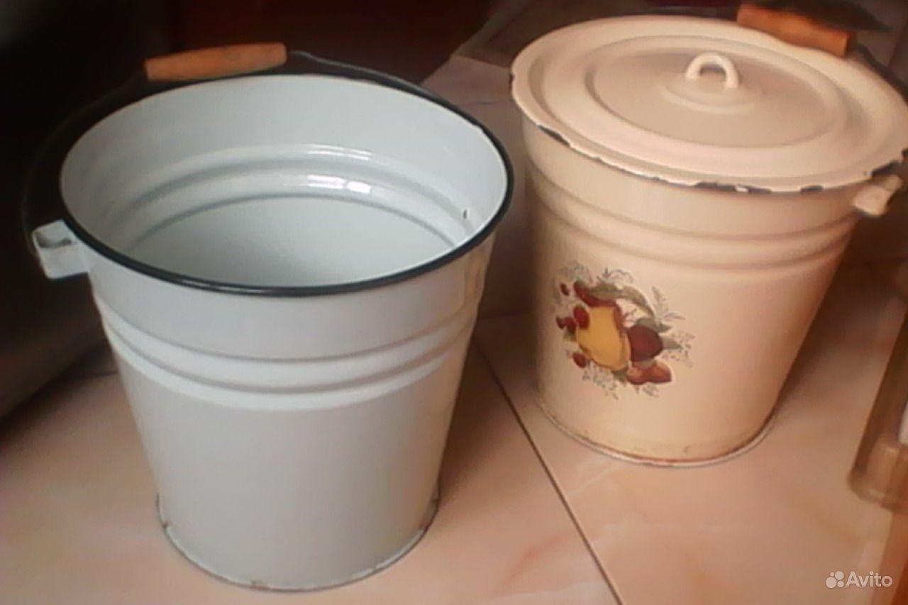 Для придания блеска и укрепления эмали прокипятите в ведре подсоленную воду (5 ч.