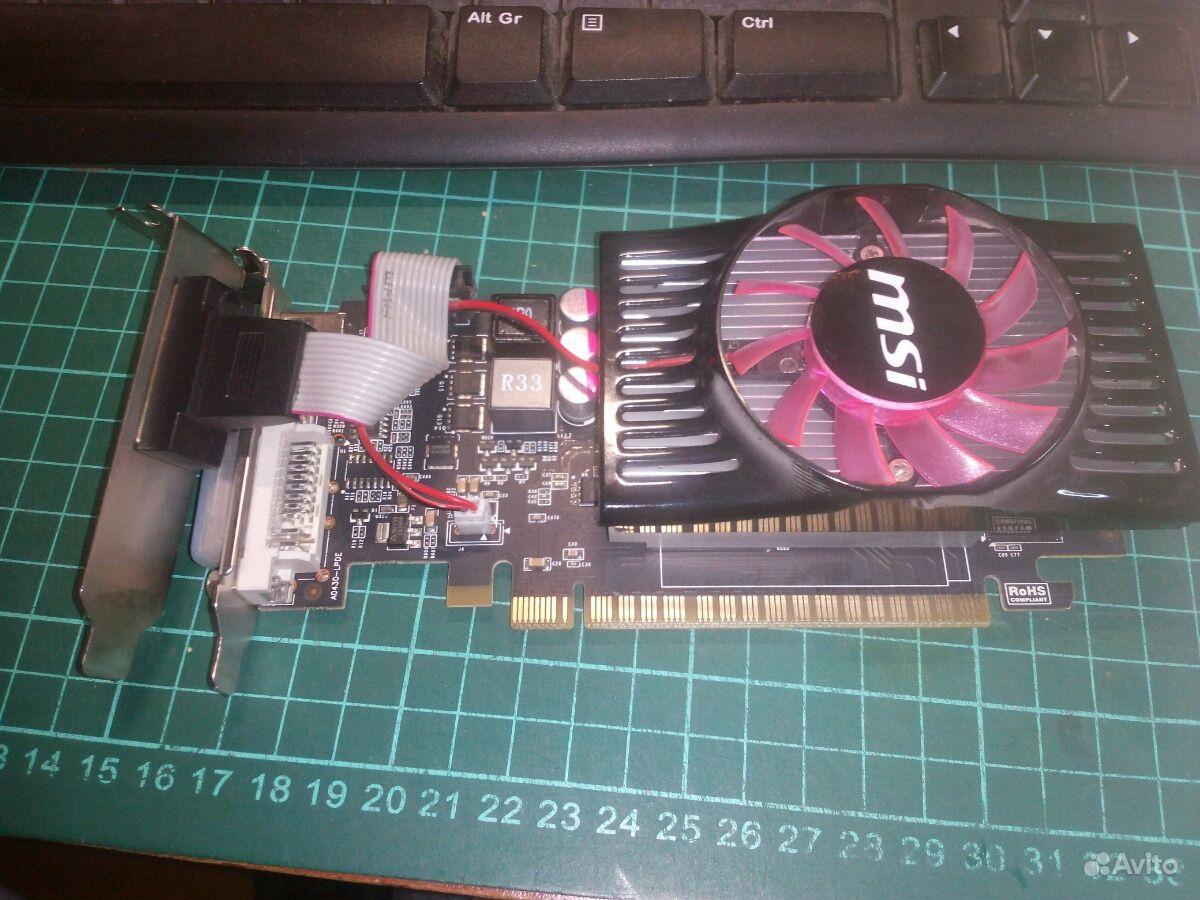 Msi Gt630 2gb Geforce Gt 630 1gb Ddr3 1