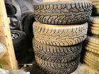 Продам шины на дисках на передне приводный ваз