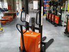 Штабелер с электроподъемом wems 1500кг на 1,6м