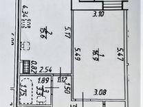 1-к. квартира, 49,1м², 4/13эт.