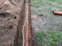 Бригада землекоп ручная копка траншей