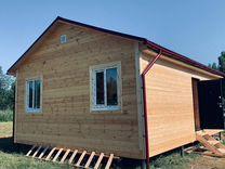Дом 48 м² на участке 8 сот.