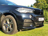 Сплиттер / губа BMW F15 / бмв Ф15 X5M