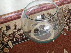 Продам круглый аквариум СССР 25 литров