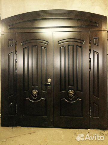входные металлические двери для частного дома клин