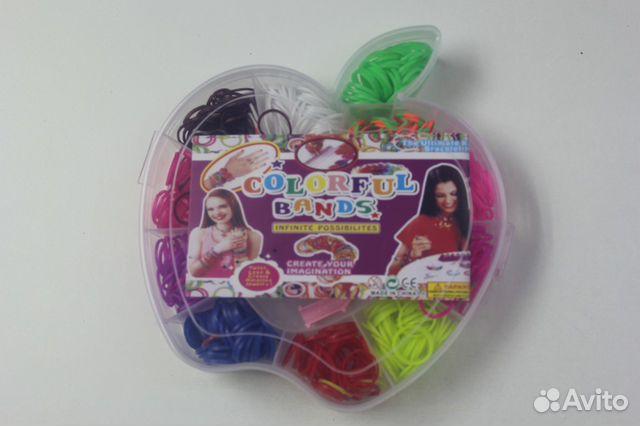 Резинки для плетения браслетом оптом