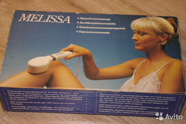 Массажер Melissa 10891 Инструкция