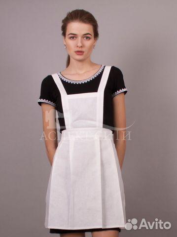 Платье с фартуком картинки