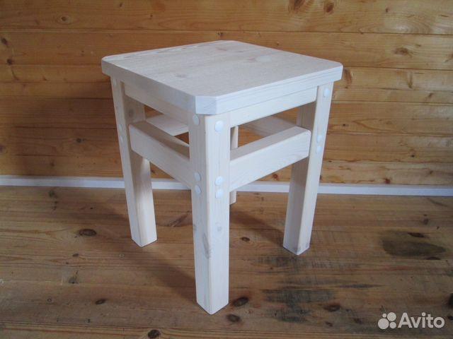 Табурет деревянный для кухни
