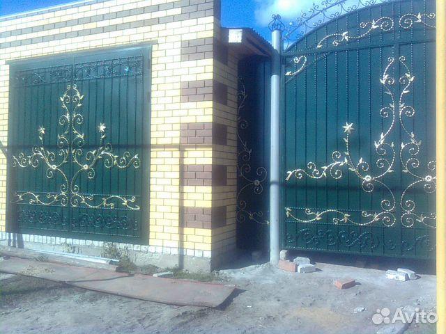 ворота кованые буинск