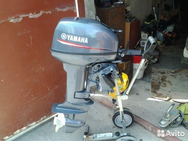 продажа лодочных моторов ямаха-9.9 б.у