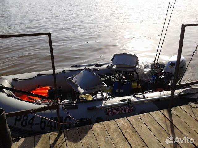 давление на лодке касатушка 365