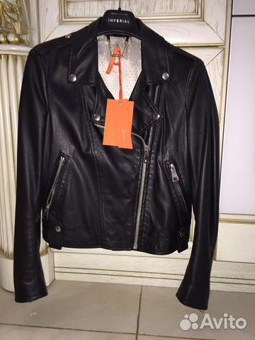 1af6c85000a8 Новая кожаная куртка Imperial купить в Ставропольском крае на Avito ...