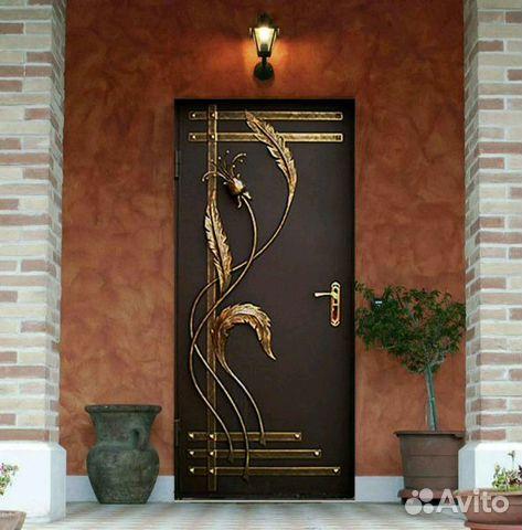 заказать железную дверь с ковкой