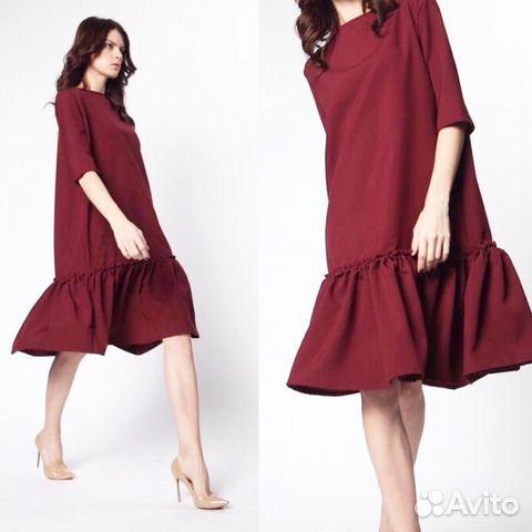 Заказать платье волан