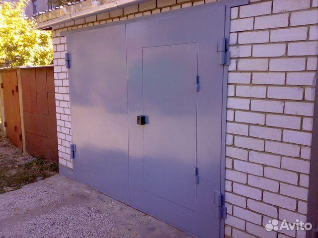 ворота в гараж распашные дешево