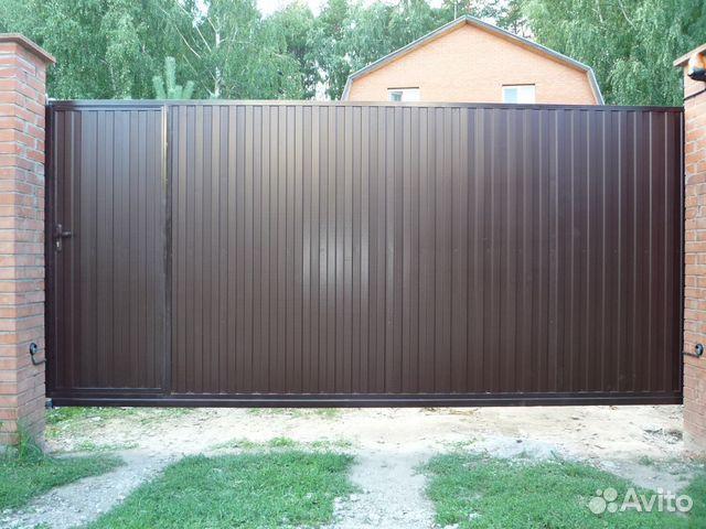 Распашные ворота калужская область ворота металлические железные