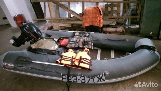 лодка пвх 360 и мотор 15 л.с