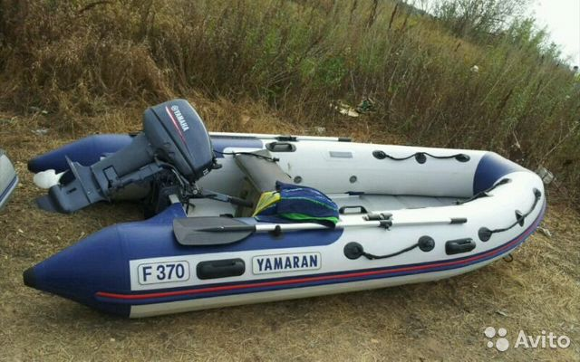 купить мотор ямаха лодка ямаран