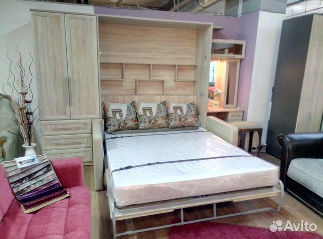 подъемная кровать с диваном Festimaru мониторинг объявлений