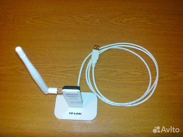 Wi-Fi адаптер TP-link TL-WN722N v1