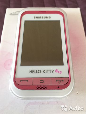 bdf50e78fad4c Телефон Hello Kitty Samsung GT-C3300i | Festima.Ru - Мониторинг ...