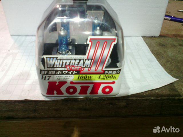 Лампы H7 Koito WhiteBeam III 89021728684 купить 2