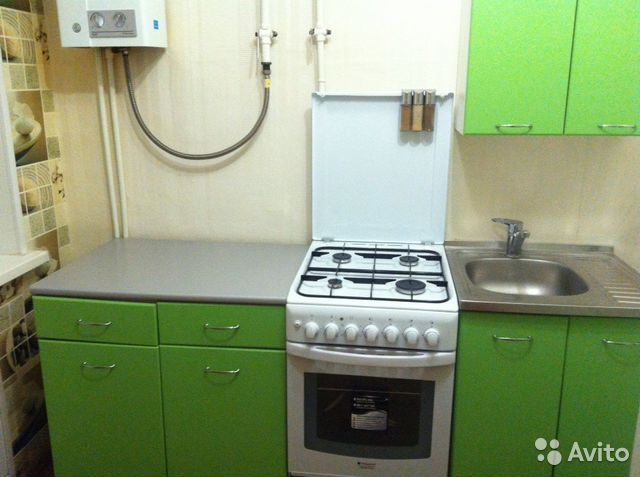 1-room apartment, 29 m2, 3/4 floor. buy 3