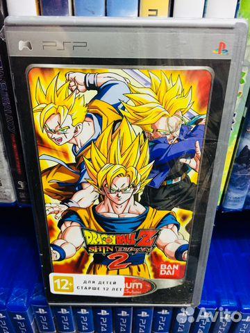 Dragon Ball Z Shin Budokai 2 Dlya Psp
