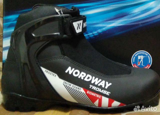 007e0bf28f10 Ботинки для беговых лыж Nordway Tromse(новые ) купить в Саратовской ...