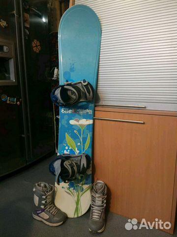 c3b5a5fa29ce Женский сноуборд комплект Gnu + Burton   Festima.Ru - Мониторинг ...