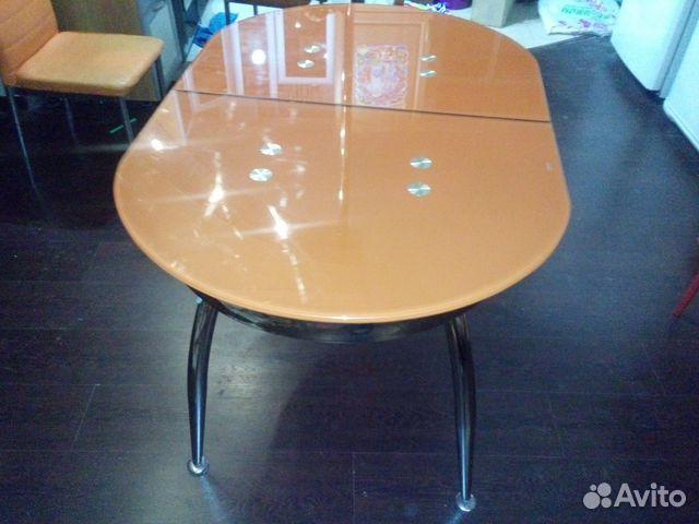 Продам стеклянный стол в разобранном