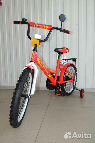 Велосипед Новый 18 Мишка, Red / В Кредит 89284666245 купить 3