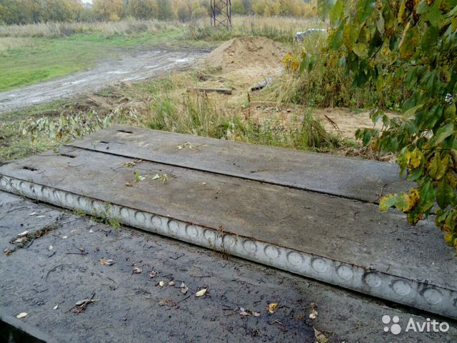 Клин плиты перекрытия железобетонных мосты