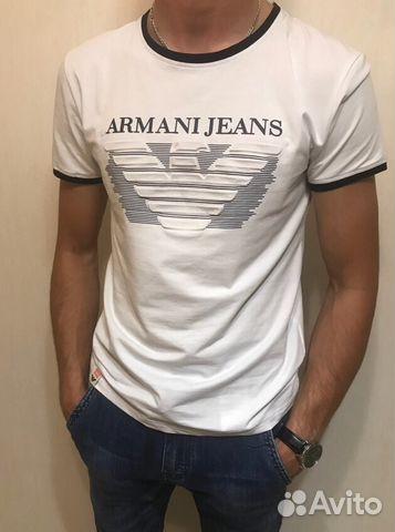 41affb62c767 Мужская футболка Armani Jeans