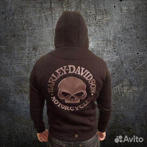 5fc484b4 Мото-толстовка косуха Harley-Davidson купить в Москве на Avito ...