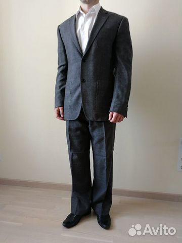 52b3181c35f4 Мужской костюм темно-серого цвета   Festima.Ru - Мониторинг объявлений