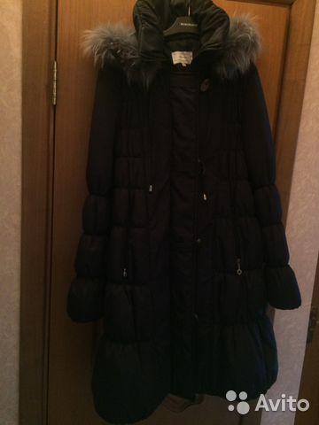 Пуховик зимний для беременных купить в Москве на Avito — Объявления ... 99ca57c7985