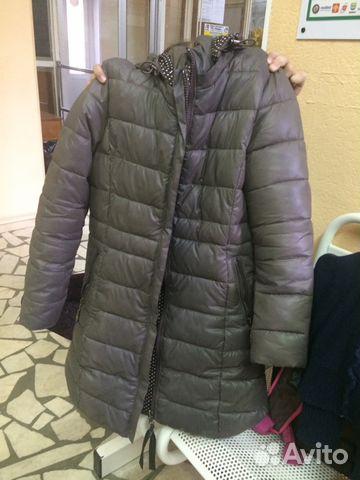 Куртка удлиненная демисезонная
