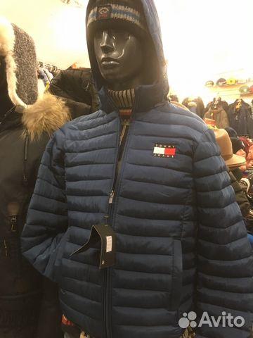 36d0aaeea3f Пуховик куртка Томми Хилфигер новая.Синяя роял купить в Санкт ...